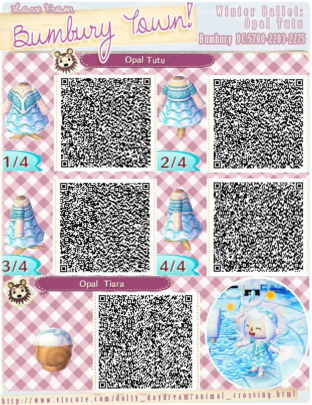 Image of: Cute Winter Ballet Opal Tutu And Tiara Qr Code Pinterest Winter Ballet Opal Tutu And Tiara Qr Code Outfit Qr Codes For