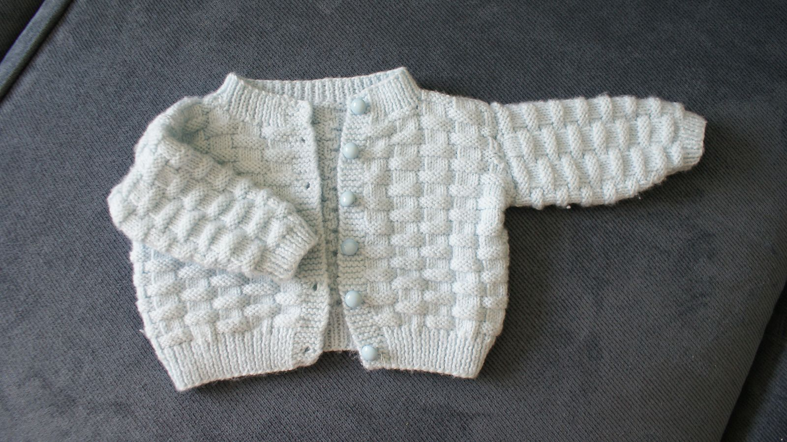 Ravelry: Basketweave Baby Sweater by Carole Barenys   Sweaters for ...