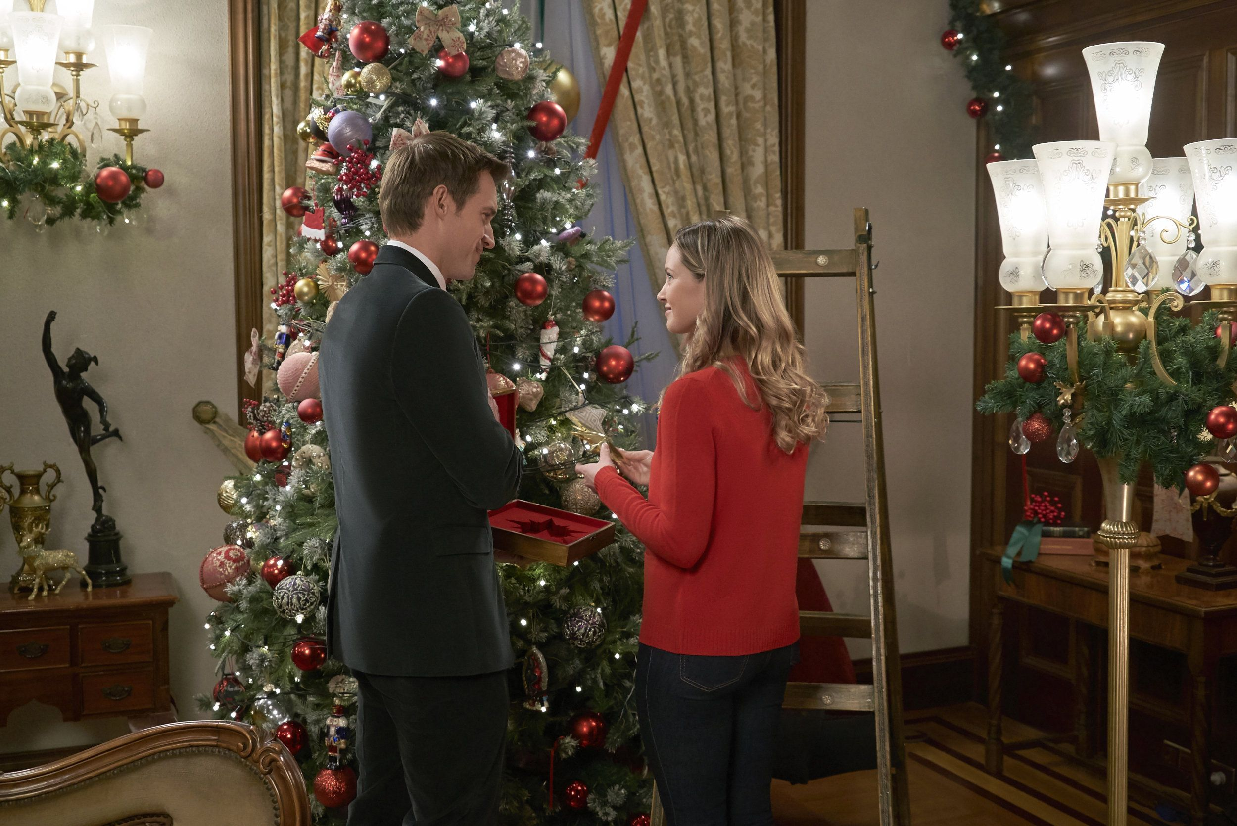 Check Out The Photo Gallery From The Hallmark Channel Original Movie Christmas At The Palace Starr Hallmark Christmas Movies Christmas Movies Hallmark Movies