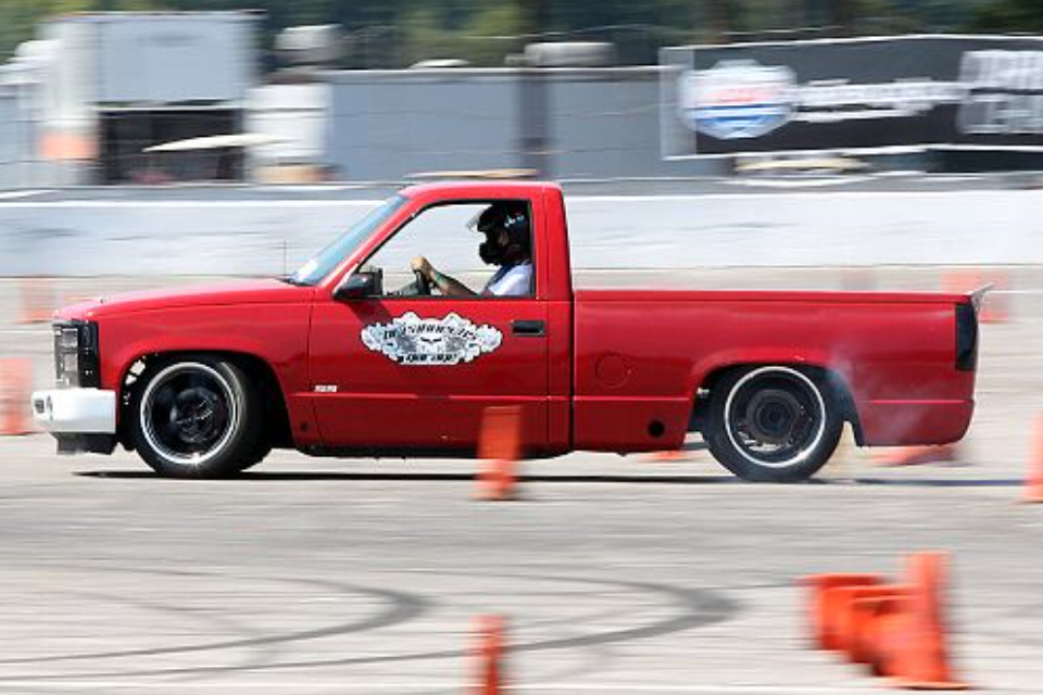 My 1997 C1500 Autocross Truck At Ls Fest 2013 Autocross Trucks Chevy Trucks