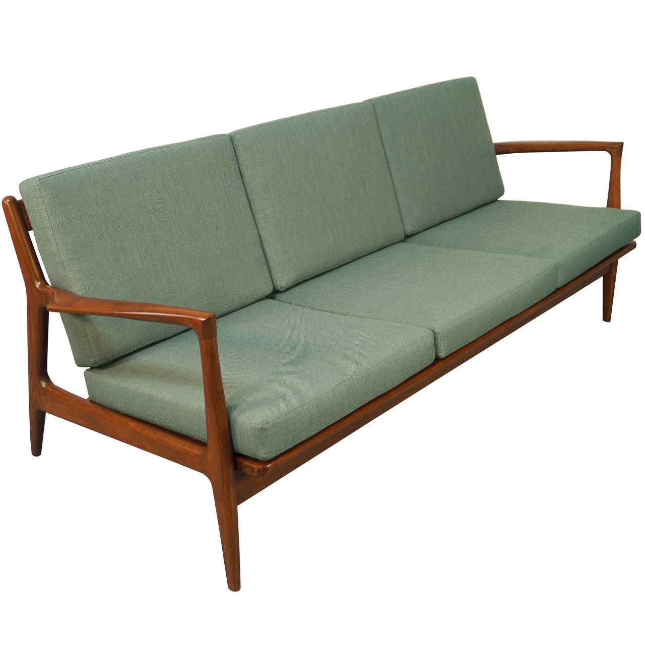 Danish Modern Sofa By Ib Kofod Ln 1stdibs