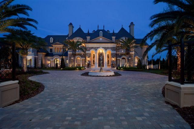 French Castle Luxury Home Design By John Henry Architect Aia