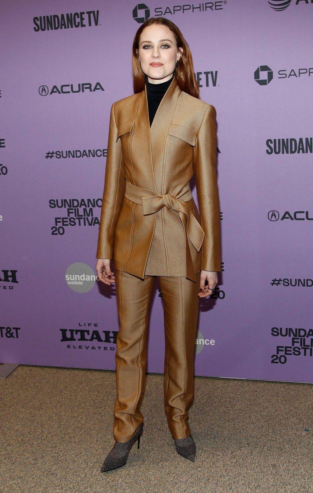 Evan Rachel Wood Wander Darkly Premiere At Sundance Film Festival In 2020 Evan Rachel Wood Sundance Film Festival Premiere