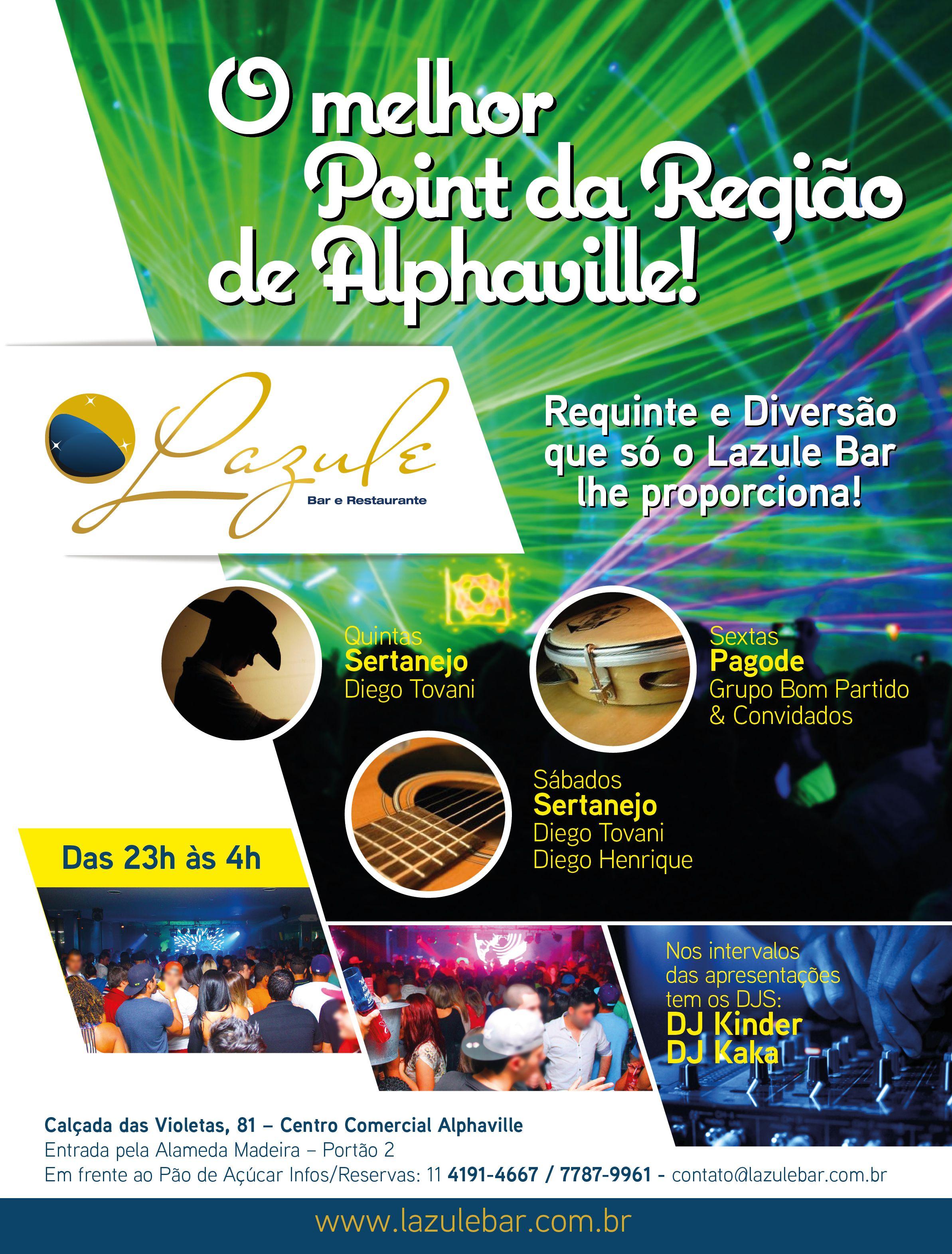 Advertising - Lazule Bar - Art director