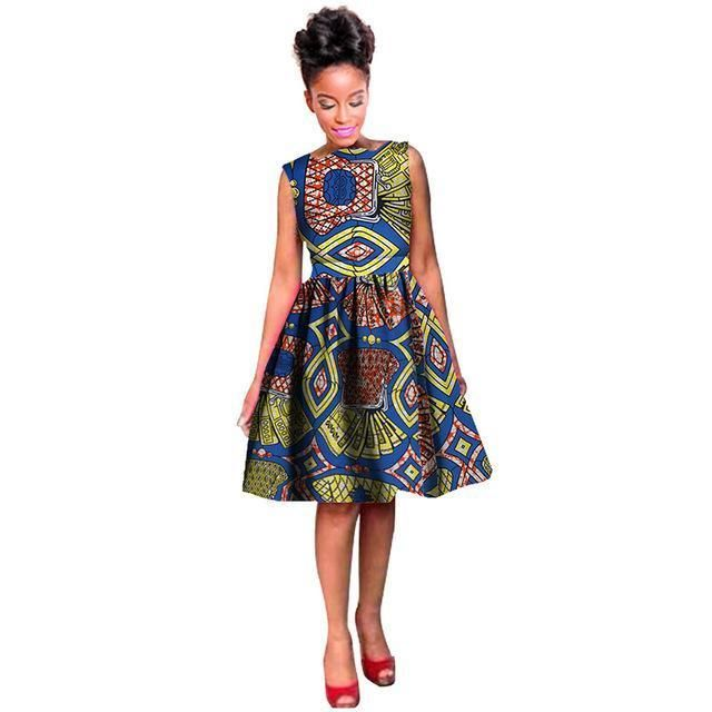 164686bc03c African Fashion Ball Gown Dress for Women  traditionalafricanfashion ...