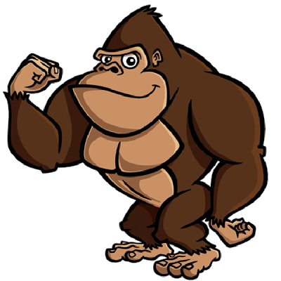 brown gorilla pictures monkeys cartoon clip art cakes prints rh pinterest co uk gorilla clip art black and white gorilla clipart easy