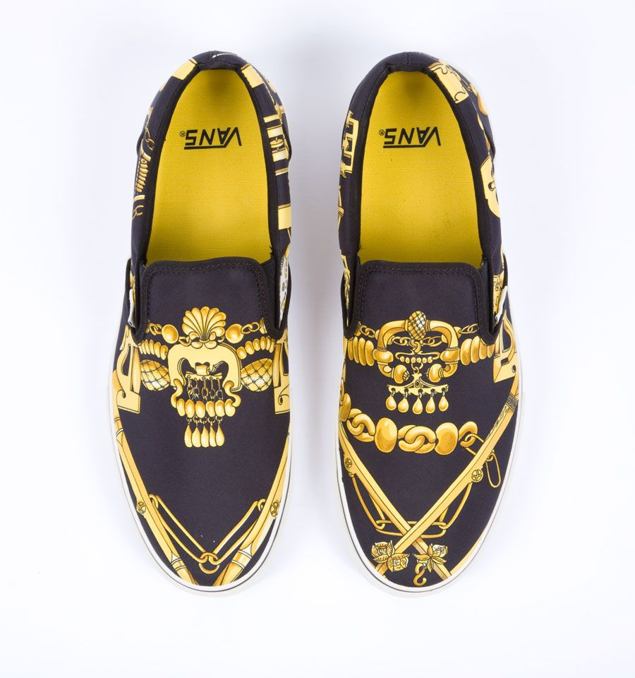 hermes x vans | Vintage hermes scarf, Shoes mens, Vans slip on