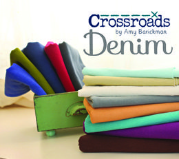 The CROSSROADS connection - the new Crossroads Denim Collection by Amy Barickman for James Thompson
