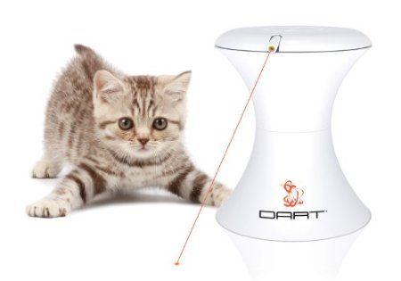 Amazon Com Frolicat Dart Tr1 Automatic Rotating Laser Pet Toy Pet Supplies Cat Laser Toy Interactive Cat Toys Cat Laser