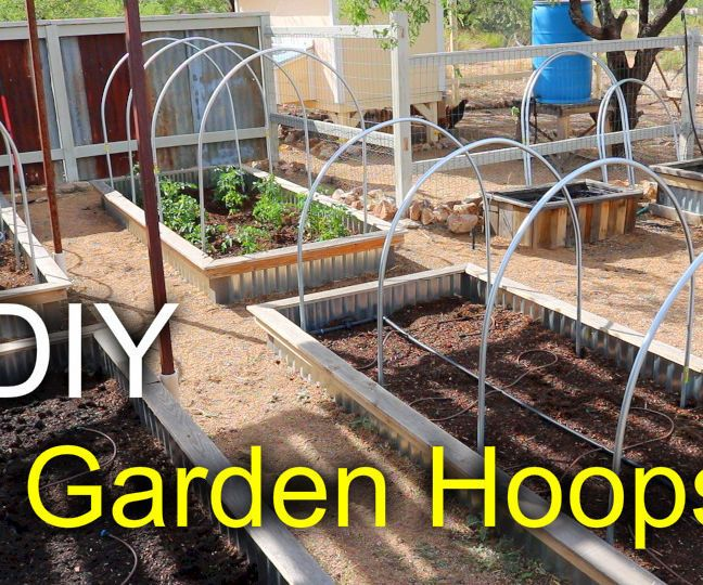 Making Garden Bed Hoops (With Images)