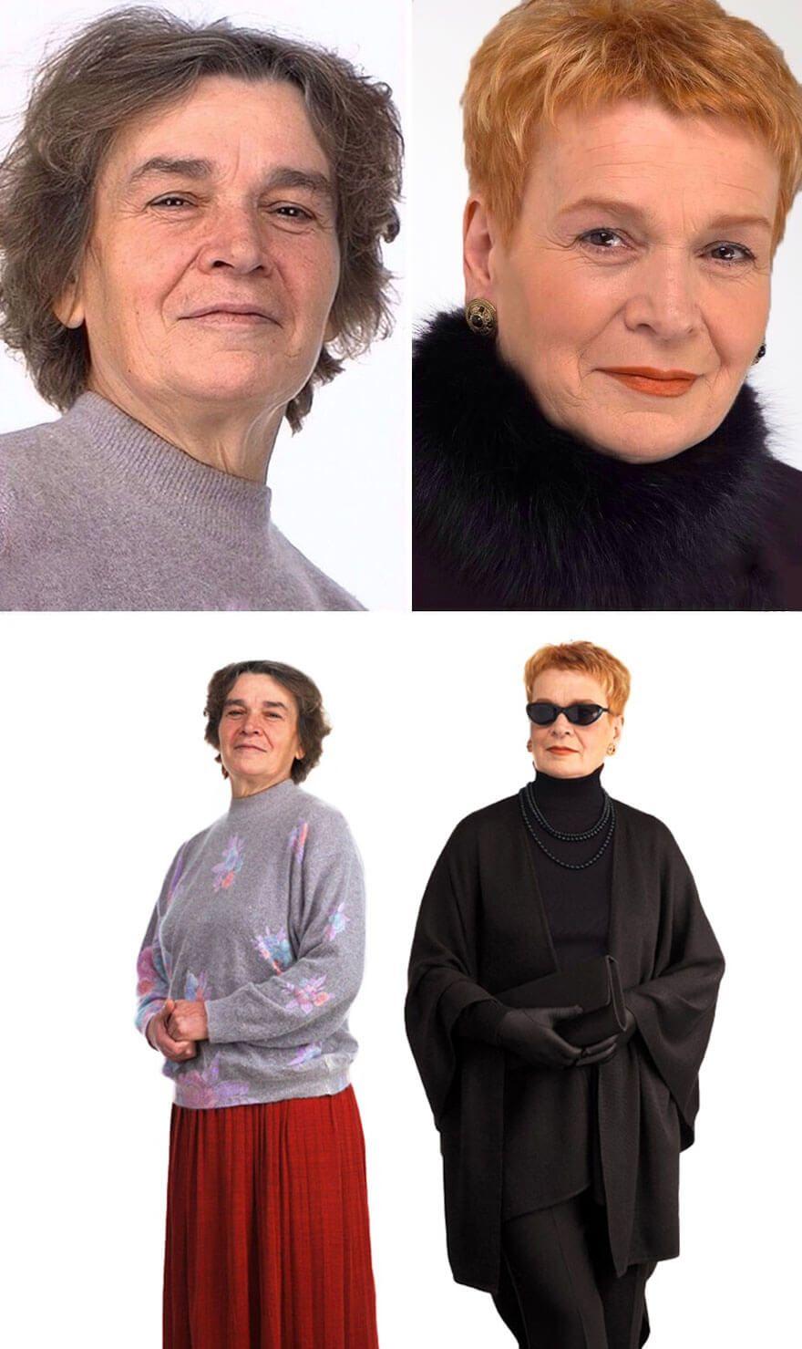 Russischer Stylist Will Beweisen Dass Jede Frau Eine Konigin Ist Schonheit Verjungungskur Styling Tipps Reife Damen