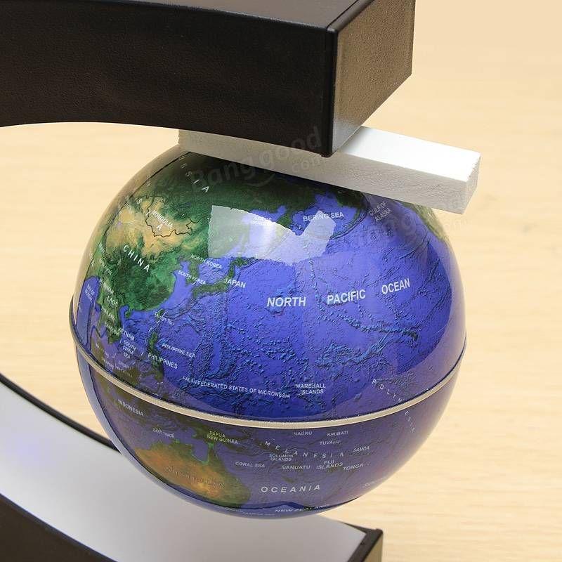 C shape magnetic levitation floating globe world map with led lights c shape magnetic levitation floating globe world map with led lights sale banggood gumiabroncs Images