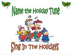 super fun christmas party game name that holiday song great for groups - Christmas Games For Groups