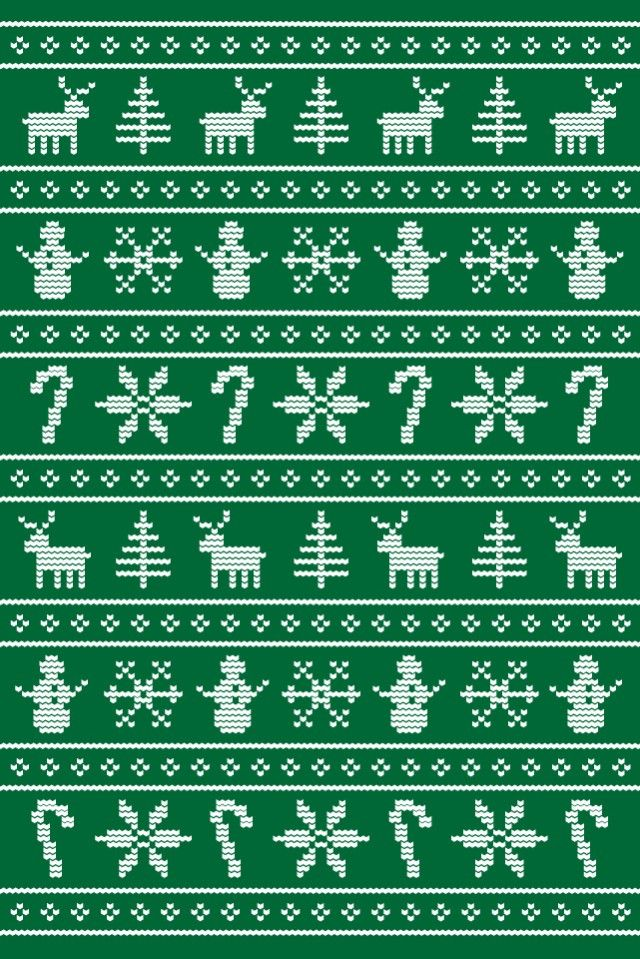christmas sweater pattern (With images) | Christmas ...