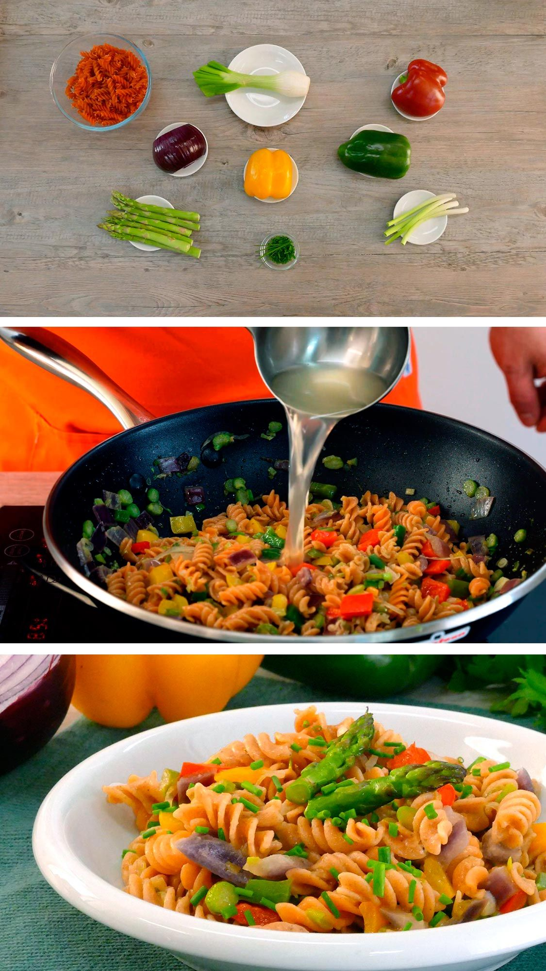 Pasta De Lentejas Rojas Con Verduras Receta Fácil Y Rápida Cocinatis Receta Platos De Pasta Lentejas Verduras