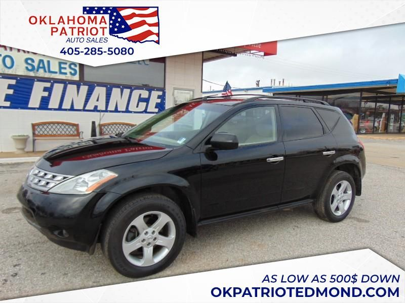 Patriot Auto Sales >> Used 2005 Nissan Murano S 2wd For Sale In Edmond Ok 73034