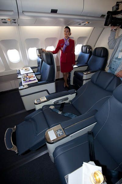 The Inflight Entertainment Systems In Business Class On The Airbus A330 200 Airlines Fancy