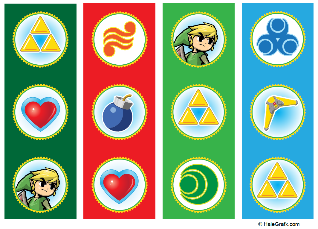 Pin by Crafty Annabelle on Legend Zelda Printables in 2019