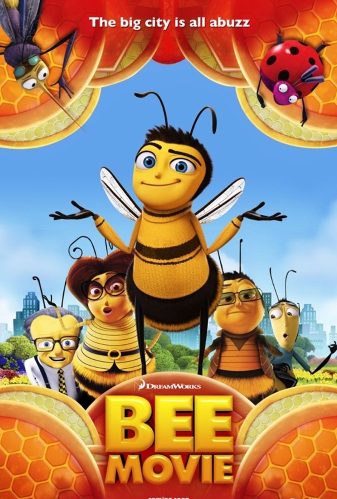 Bee Movie A 2007 American computer animated family comedy