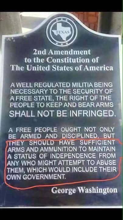 Washington Never Said This What He Said Was A Free People Ought