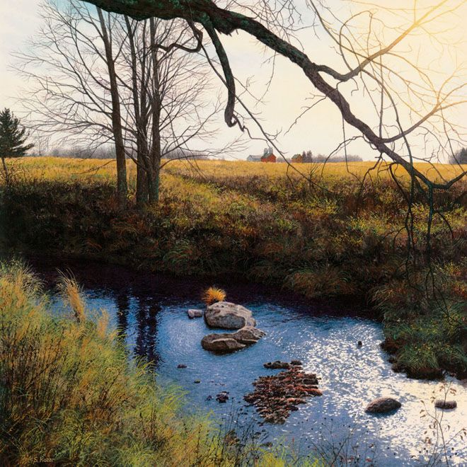 25 Hyper Realistic Watercolor Paintings By Steven Kozar Watercolor Landscape Fine Art Painting Landscape Paintings