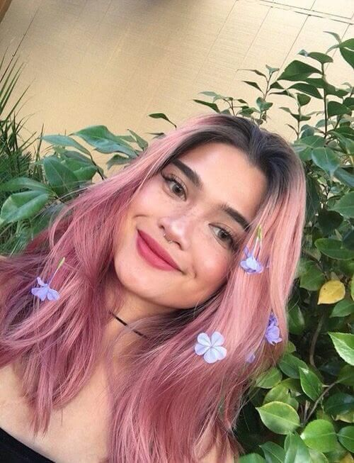 Top Trending Hair Colors For Pale Skin Cheveux rose