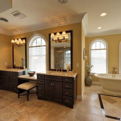 tan tile, bathroom | traditional bathroom designs