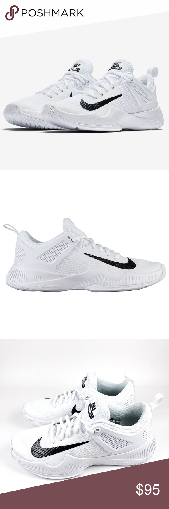 fbcf66a1cf80f Nike Women s Air Zoom Hyperace Volleyball Shoes NEW Nike Women s Size 7.5 Air  Zoom Hyperace White Black Volleyball Shoes 902367-100 NWOB Nike Shoes  Athletic ...