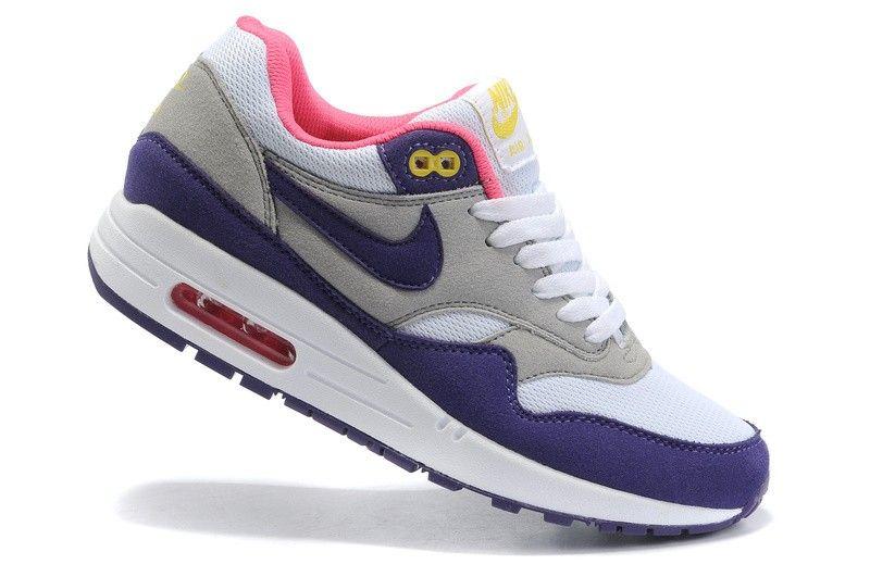 Nike Womens Air Max Shoes 87 Cheap Blue Gray White, $75.44 | www.buynike
