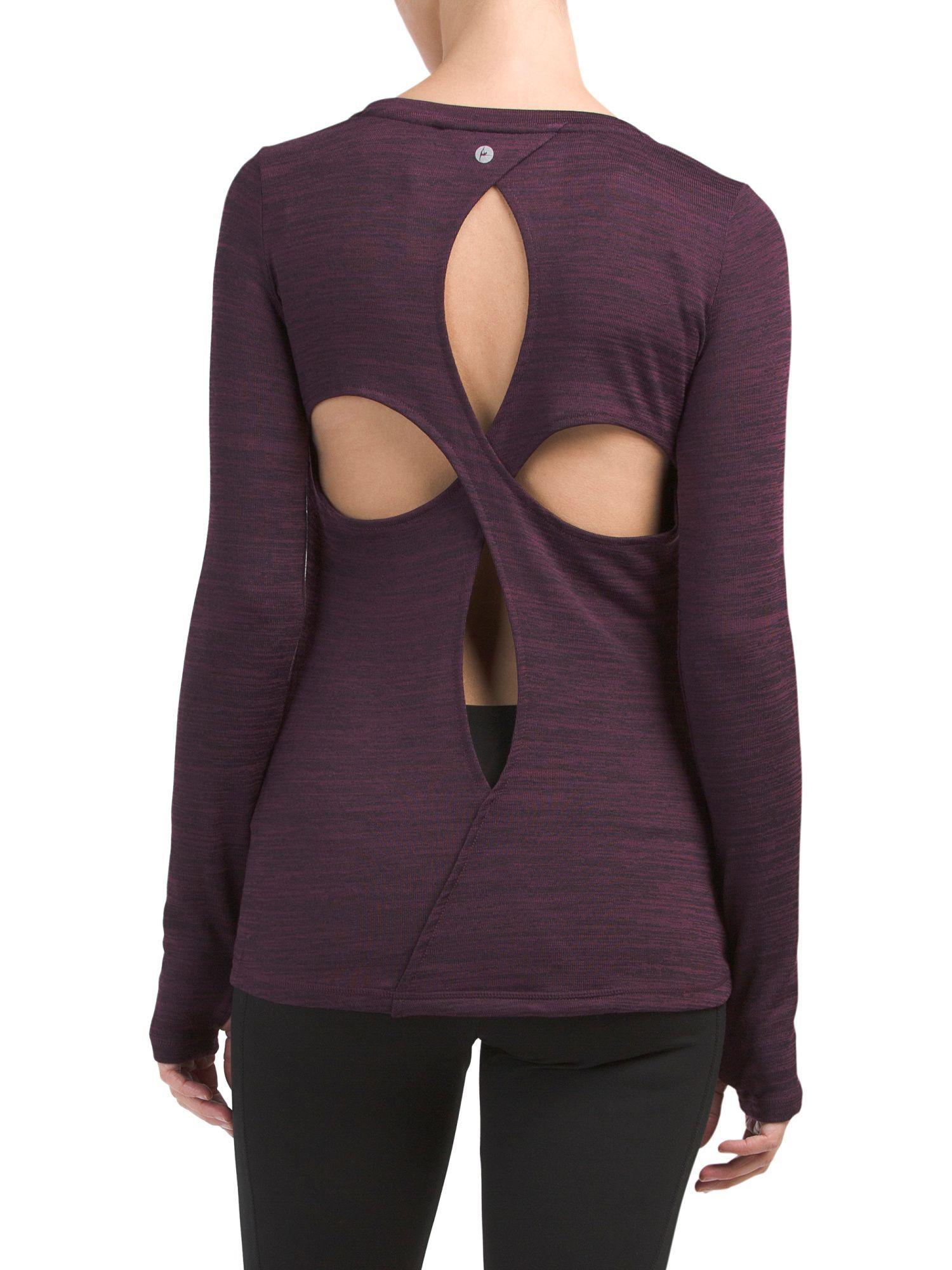Clover Back Top Tops, Fashion, Fashion design