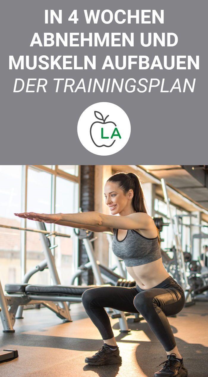 Schnell abnehmen Übungen – Fitness Challenge mit Trainingsplan