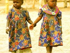 two-maasai-children