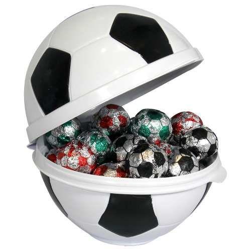 789bba4d5 Lembrancinha Festa Futebol - Embalagem Em Formato De Bola