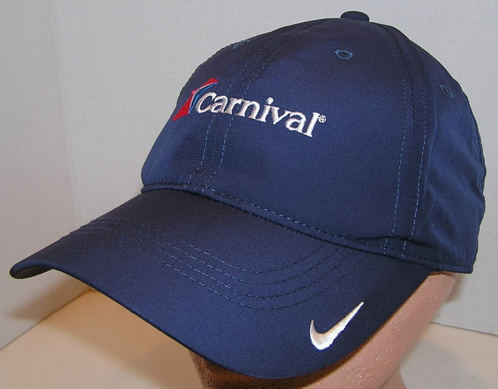 the best attitude d6a71 52398 Carnival Cruise Line Platinum VIP Nike Gold Velcro Back Cap Hat Unique  Brand New  NikeGolf  BaseballCap