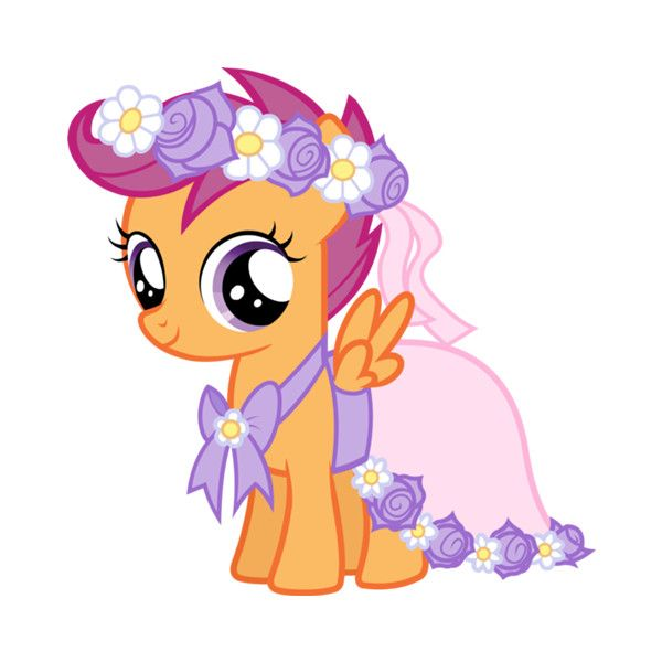 My Little Pony Wedding Flower Fillies: Pin By Merri Sukandar On Anime