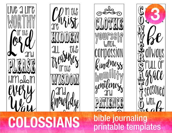 4 bible journaling printable templates illustrated christian faith
