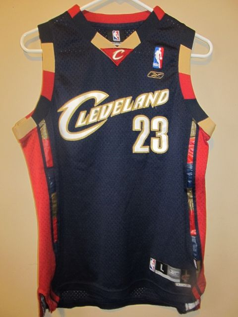 buy popular 711e2 29be4 Reebok Lebron James Cleveland Cavaliers jersey , Youth large ...