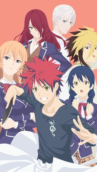 Wallpaper Anime Shokugeki No Souma San No Sara Tootsuki Ressha Hen