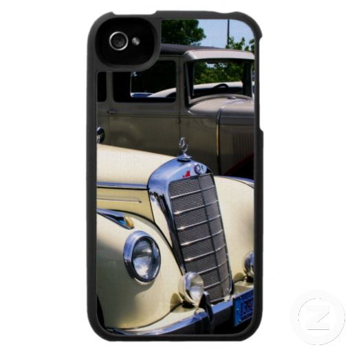 """""""At The Car Show"""" iPhone 4 cover.  Design By Kay Novy kkphoto1  http://www.zazzle.com/kkphoto1"""