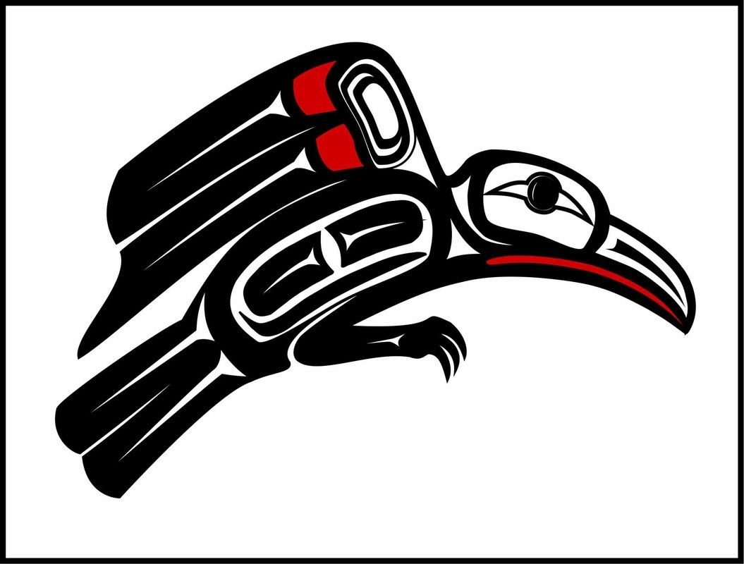 raven haida point art tattoo ideas pinterest
