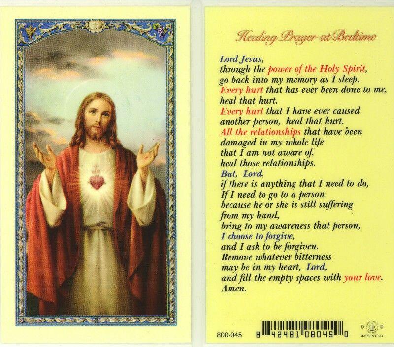 Holy spirit prayers for healing catholic prayers