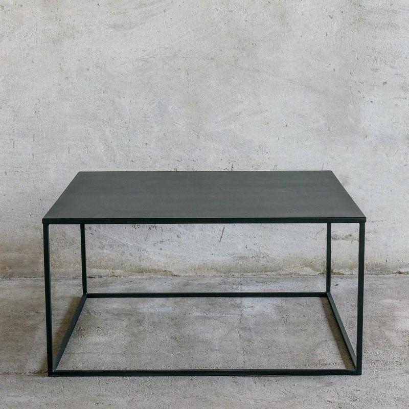 Simplex Couchtisch 80x80 Couchtisch Metall Wohnzimmertische