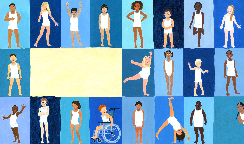 The Barefoot Book of Children - David Dean #children #world #earth #diversity #childrensbook #illustration #kidlitart #daviddean