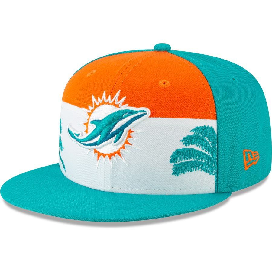 timeless design 13148 b3186 Miami Dolphins New Era 2019 NFL Draft On-Stage Official 59FIFTY Fitted Hat  – Aqua