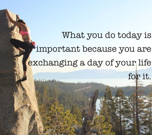 Inspirational Quote Photo Credit Kate Carr Rock Climber