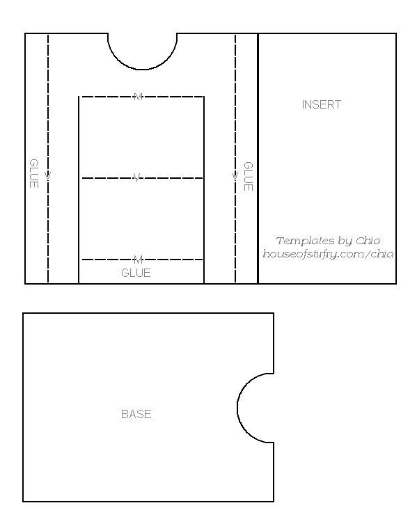 Chia S Rubberstamp Art Templates Card Sketches Templates Slider Cards Card Sketches