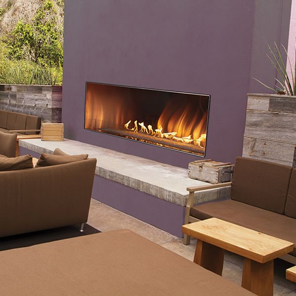 Empire Carol Rose Outdoor Linear Gas Fireplace 48 In 2020