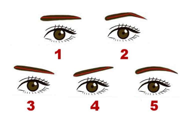 Qué dice tu tipo de cejas sobre tu personalidad? Cejas rectas, La - tipos de cejas