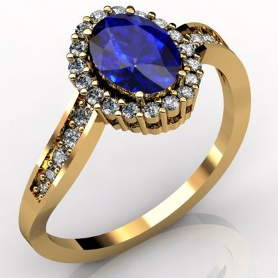 14k Yellow #Gold #Tanzanite #Ring  Price: $1330.93
