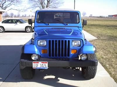 This Is My 1991 YJ Wrangler With A 25 Lift 31 Tires And Baja Rims It Lot Of Fun Has Low Miles No Rust The Kids Love We
